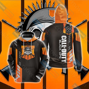 Call of Duty - Black Ops 4 New Unisex 3D Hoodie