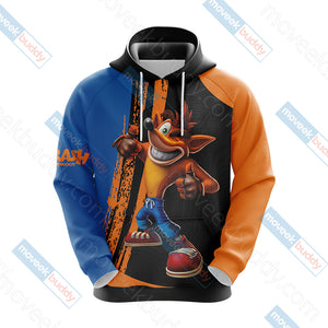 Crash Bandicoot New Look Unisex 3D Hoodie