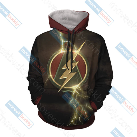 Image of Arrow and Flash Unisex 3D Hoodie