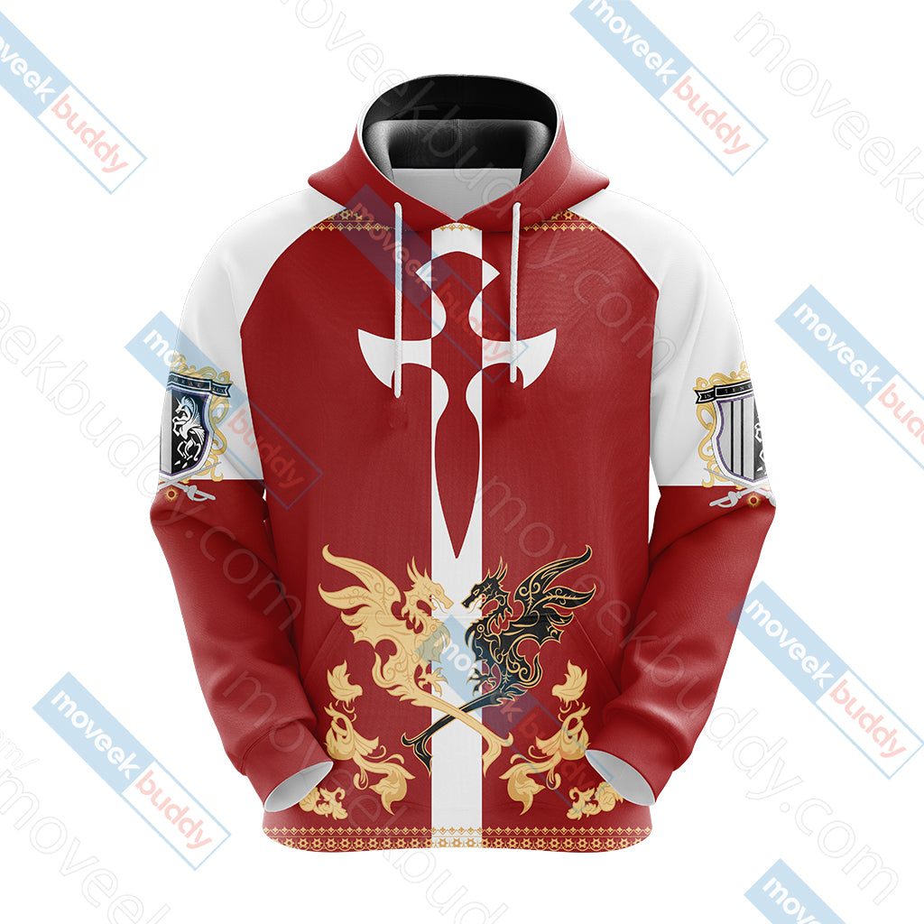Final Fantasy XV - Niflheim empire flag Unisex 3D Hoodie