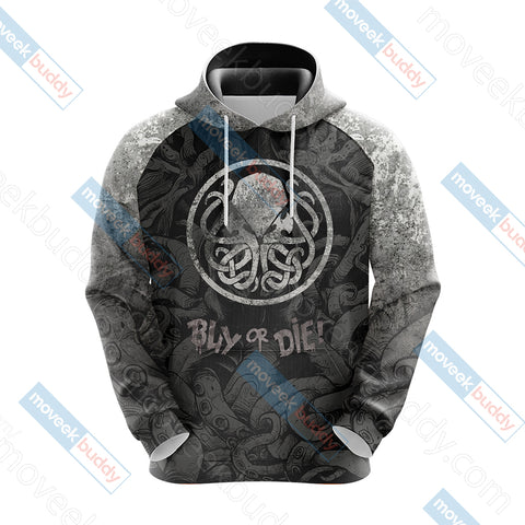 Image of The Call of Cthulhu Unisex 3D Hoodie