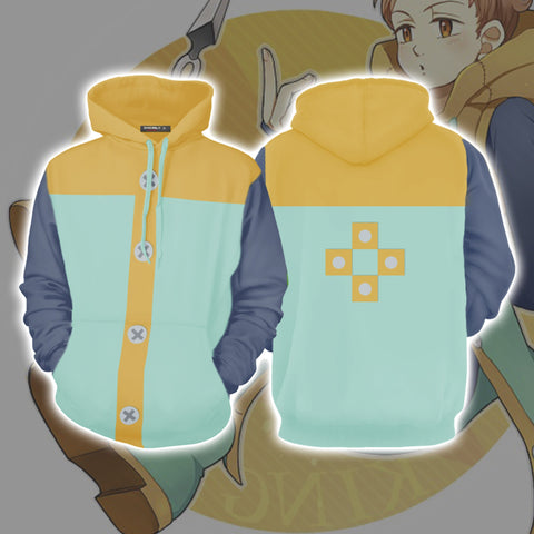 Image of King Cosplay Nanatsu No Taizai (The Seven Deadly Sins) 3D Hoodie