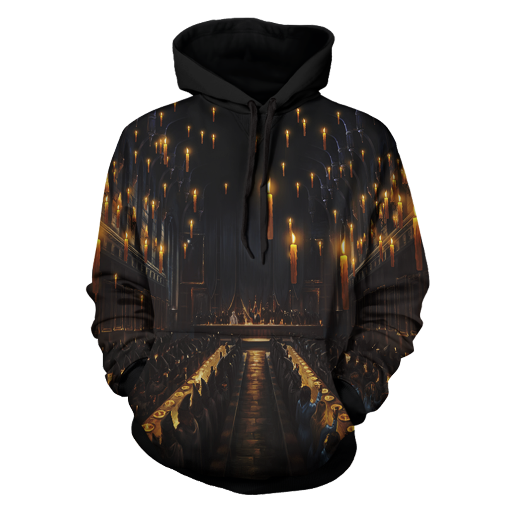 The Great Hall Harry Potter 3D Hoodie