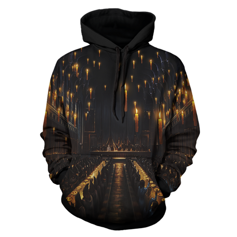 Image of The Great Hall Harry Potter 3D Hoodie