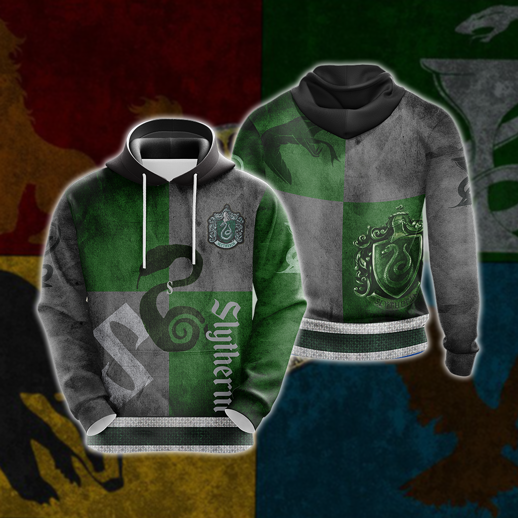 Cunning Like A Slytherin Harry Potter New Version 1 Unisex 3D Hoodie