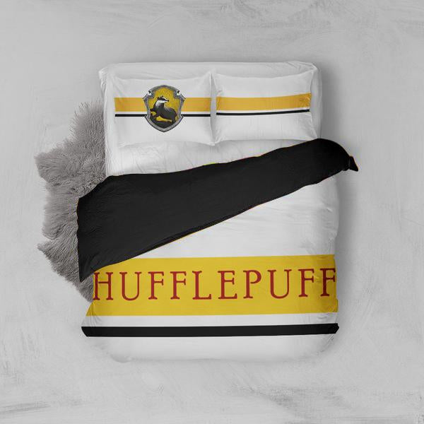 Hogwarts House Hufflepuff Harry Potter Bed Set