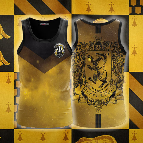 Image of Hufflepuff Edition Harry Potter New 3D Tank Top
