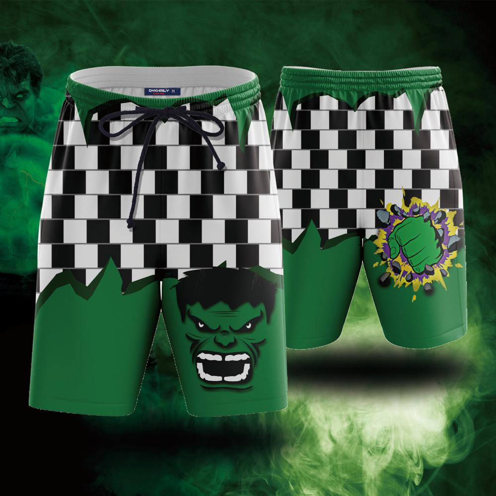 Hulk Fist Beach Short