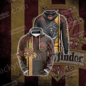 Gryffindor House Harry Potter New Look Unisex 3D Hoodie