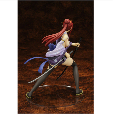 Fairy Tail Erza Scarlet Doll Action Figure