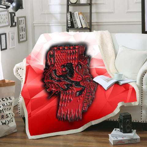The Gryffindor Lion Harry Potter 3D Throw Blanket