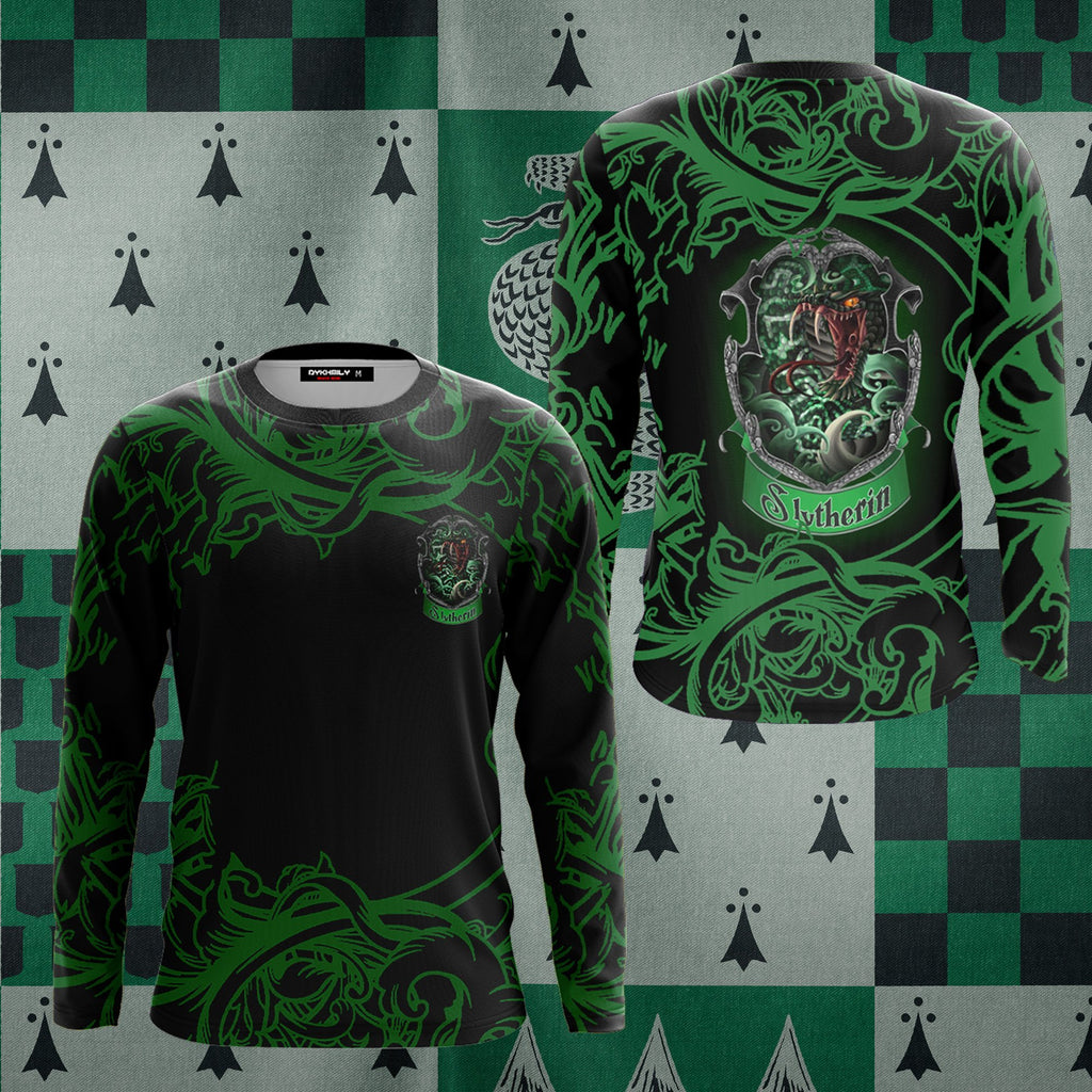 Cunning Like A Slytherin Harry Potter 3D Long Sleeve Shirt