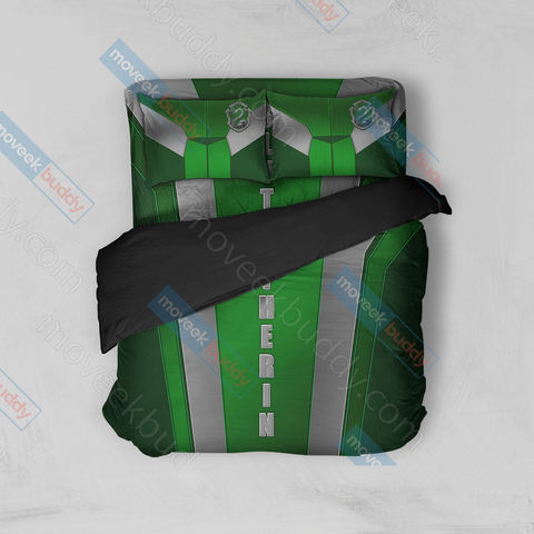 Image of Harry Potter - Slytherin House Collection Bed Set