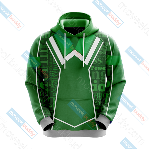 Image of Harry Potter - Slytherin House New Lifestyle Unisex 3D Hoodie