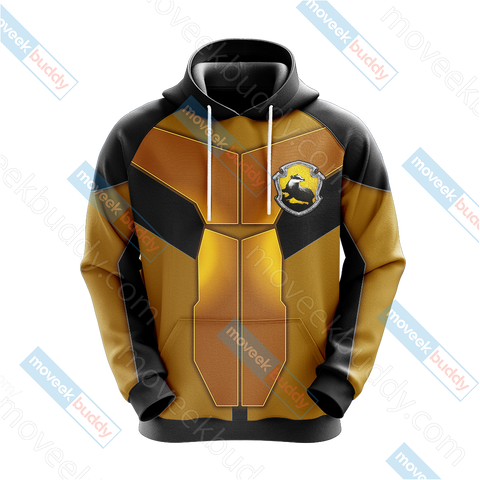 Image of Harry Potter - Hufflepuff New Collection Unisex 3D Hoodie