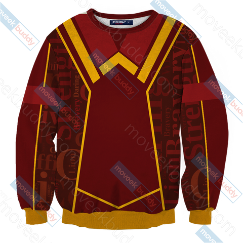 Image of Harry Potter - Gryffindor House New Lifestyle Unisex 3D Sweater