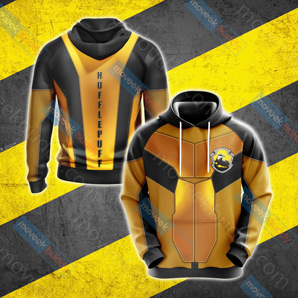 Harry Potter - Hufflepuff New Collection Unisex 3D Hoodie