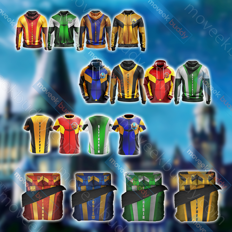 Image of Harry Potter - Slytherin House Collection Unisex 3D T-shirt