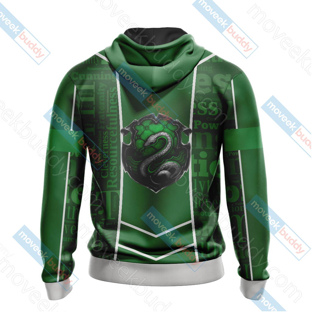 Harry Potter - Slytherin House New Lifestyle Unisex 3D Hoodie
