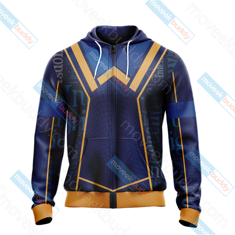 Image of Harry Potter - Ravenclaw House New Lifestyle Unisex Zip Up Hoodie