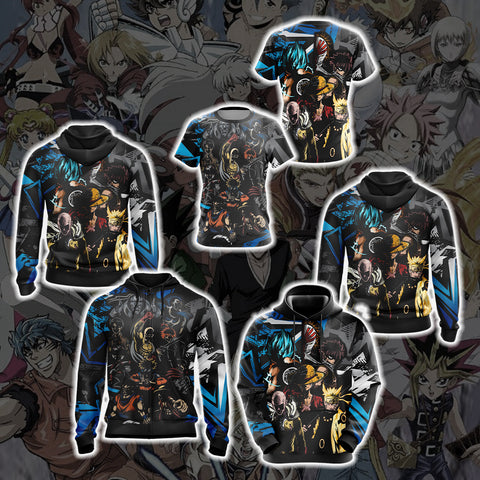 Image of Heroes crossover Unisex Zip Up Hoodie