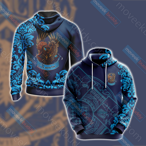 Image of Harry Potter - Wise Like A Ravenclaw Version Lifestyle Unisex 3D Hoodie