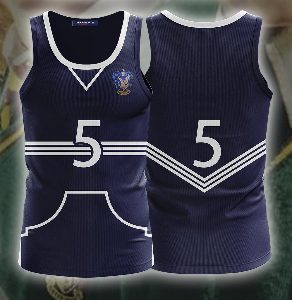 Harry Potter The Ravenclaw Quidditch Team 3D Tank Top