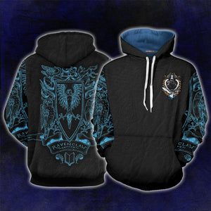 Ravenclaw Edition Harry Potter 3D Hoodie
