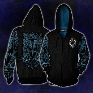 Ravenclaw Edition Harry Potter Zip Up Hoodie
