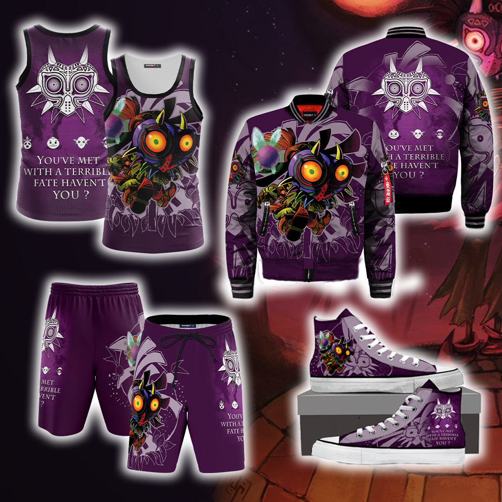 Legend of Zelda - Majora's Mask Unisex 3D Tank Top