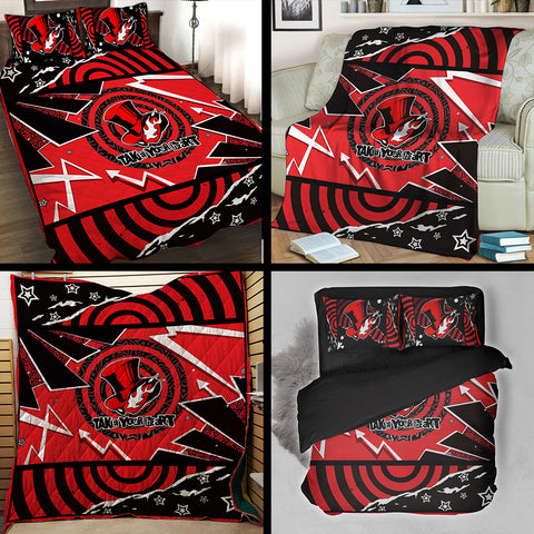 Persona 5 Phantom Thieves Take Your Heart Symbol 3D Quilt Set