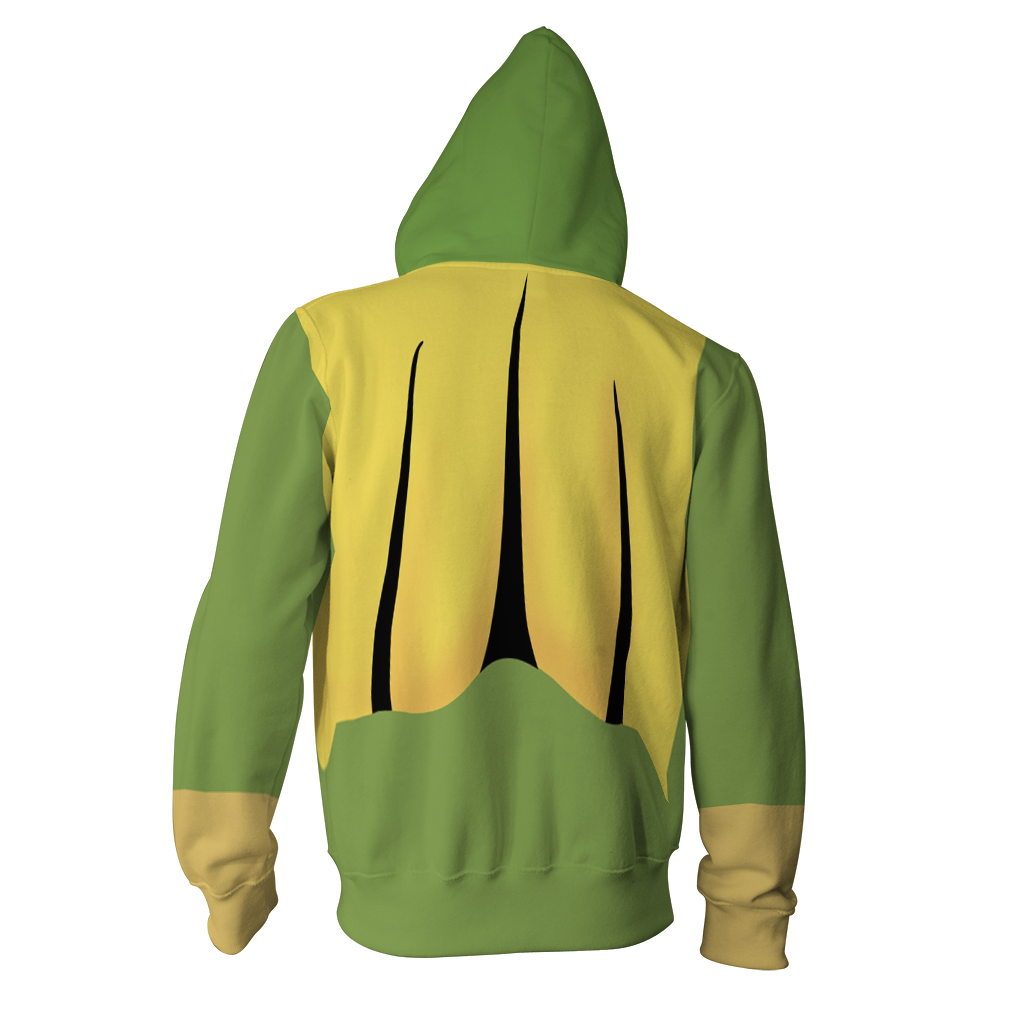 The Vision Cosplay Zip Up Hoodie Jacket