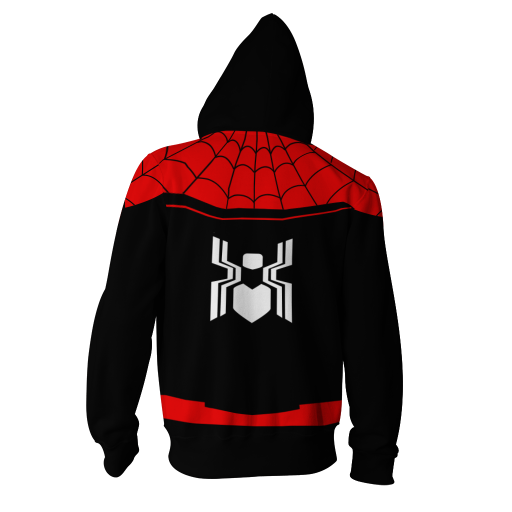 Spider-Man: Far From Home Cosplay Zip Up Hoodie Jacket