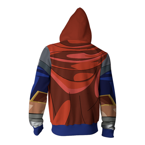 Fire Emblem Ike Cosplay Zip Up Hoodie Jacket