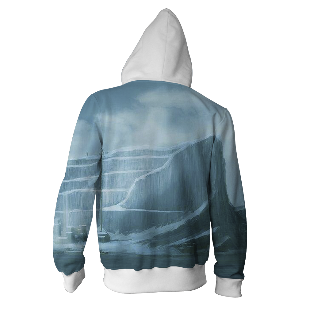 Suicide Squad Game Of Thrones Version Zip Up Hoodie