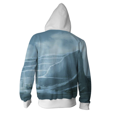 Image of Suicide Squad Game Of Thrones Version Zip Up Hoodie