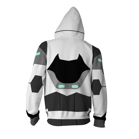 Image of Shiro Voltron Legendary Defender Cosplay Zip Up Hoodie Jacket