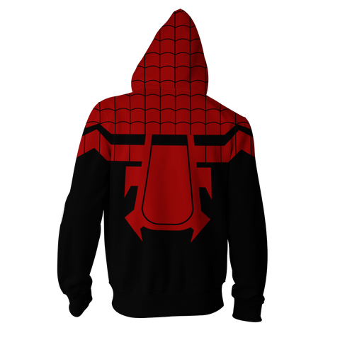 Image of The Superior Spider-Man Cosplay Zip Up Hoodie Jacket