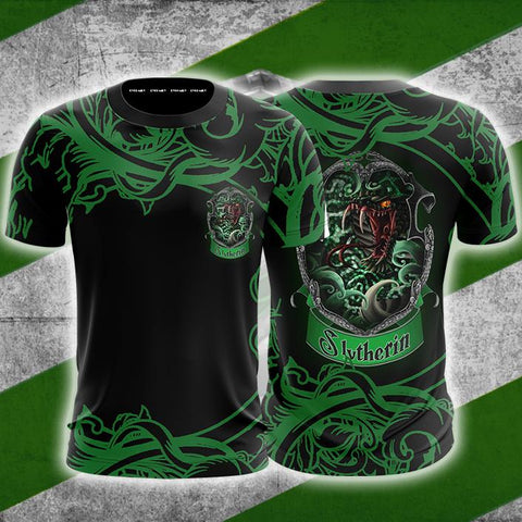 Cunning Like A Slytherin Harry Potter Unisex 3D T-shirt