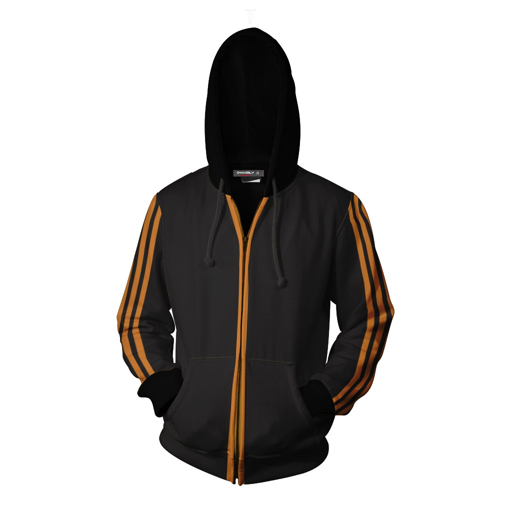 Kingsman: The Golden Circle Eggsy Unwin Cosplay Zip Up Hoodie Jacket