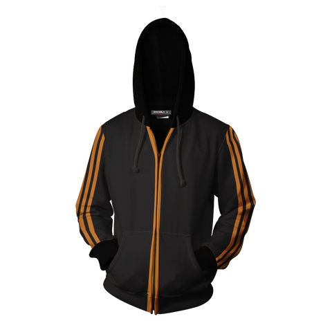 Image of Kingsman: The Golden Circle Eggsy Unwin Cosplay Zip Up Hoodie Jacket
