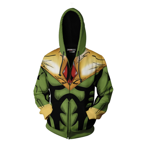 Image of The Vision Cosplay Zip Up Hoodie Jacket