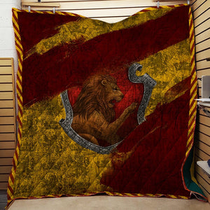 The Gryffindor House Harry Potter 3D Quilt Blanket