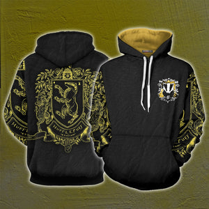 Hufflepuff Edition Harry Potter 3D Hoodie