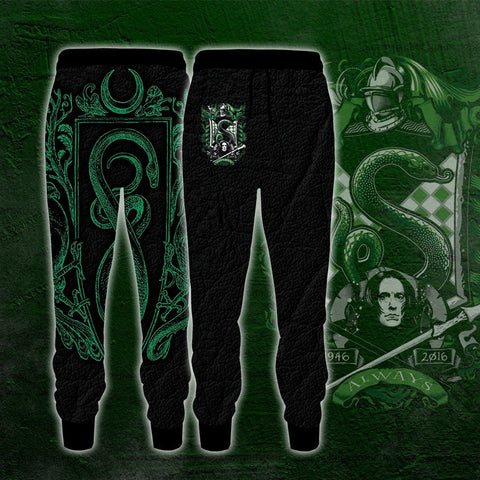 Image of Slytherin Edition Harry Potter Jogging Pants
