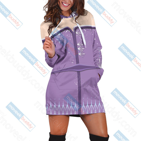 Image of Frozen 2 - Elsa 3D Hoodie Dress