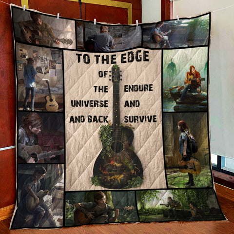 The Last Of Us Endure And Survive 3D Quilt Bed Set