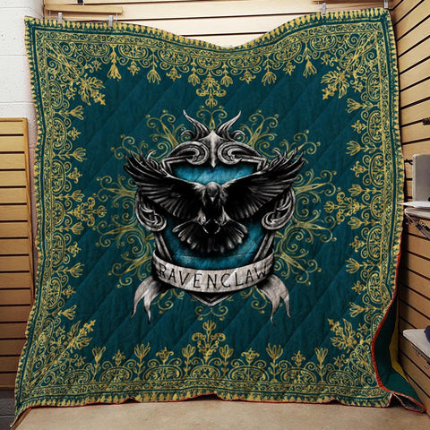 Mandala The Ravenclaw Eagle Harry Potter 3D Quilt Blanket