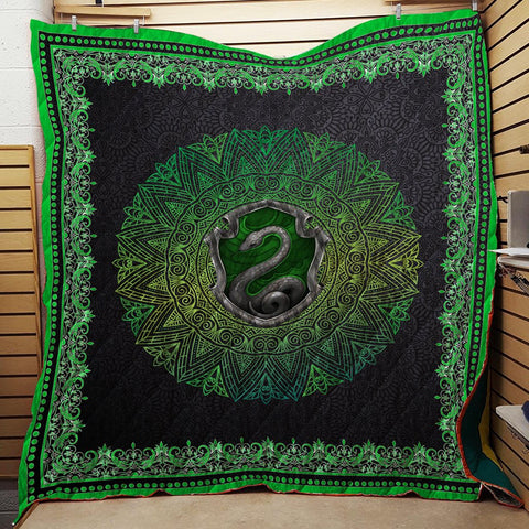 Hogwart House Slytherin Harry Potter 3D Quilt Blanket