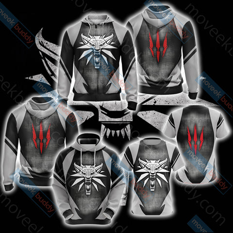 Image of The Witcher Wild Hunt Unisex 3D Hoodie